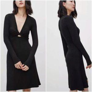 Aritzia Wilfred Free Paige dress black sizeXS